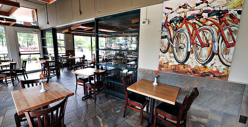 Cafe Alfresco Seating Area Interior