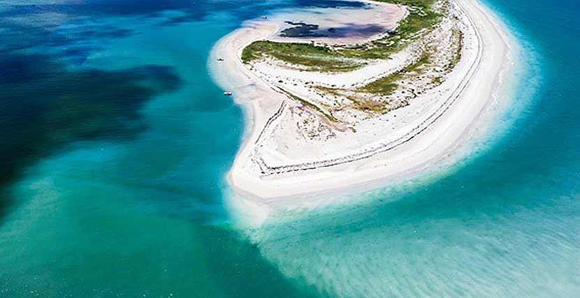 Caladesi Island Parks Romantic Honeymoon